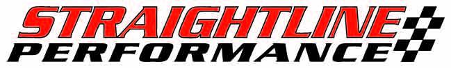 Straightline Performance Logo White Background