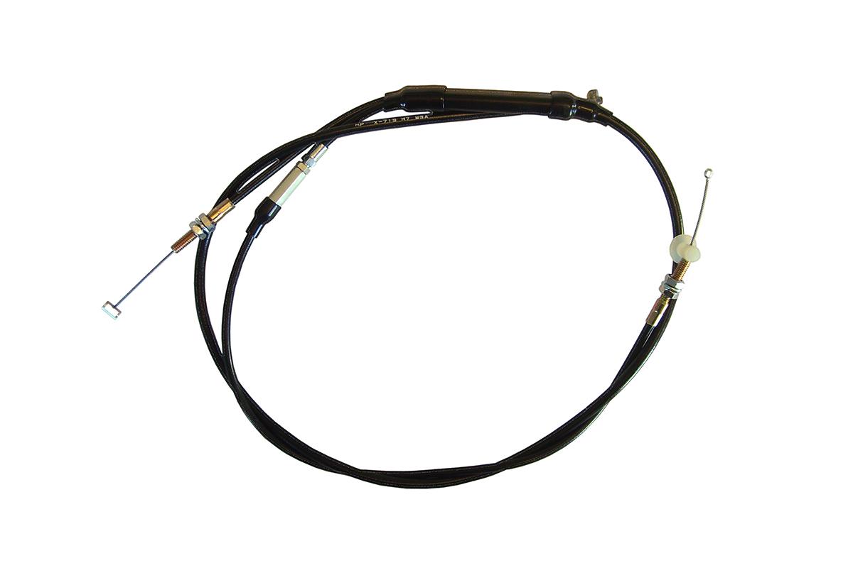YAMAHA MOUNTAIN MAX 600 & 700, VIPER THRU 03', SRX 700, XTC,XT, V-MAX, dual cable set for oiler and throttle