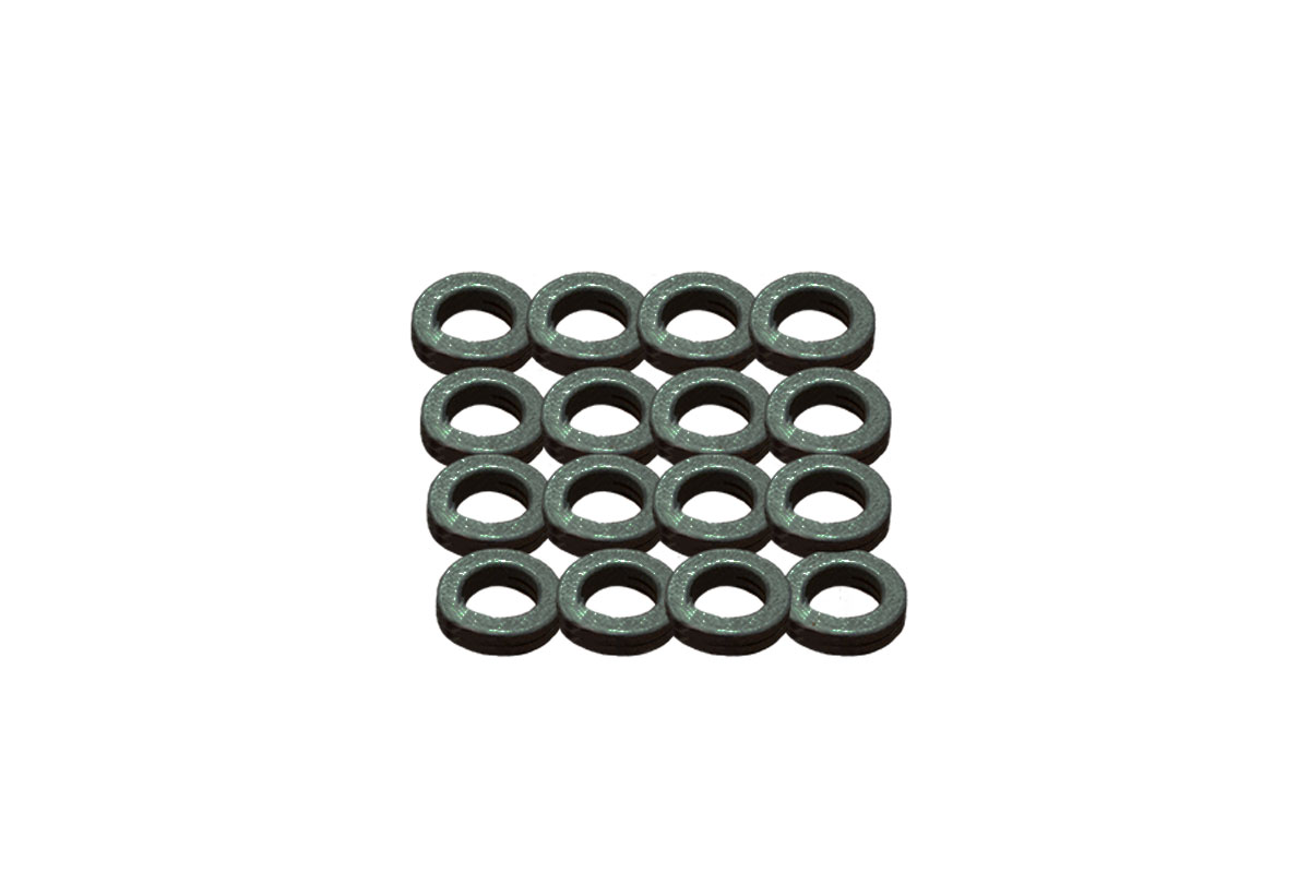 Tungsten washers for adjustable weights 2g each (Qty 12)