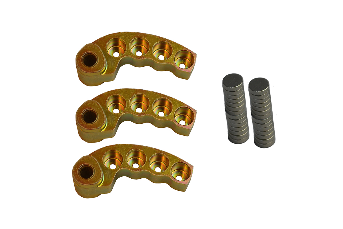 """2016-21 Arctic Cat """"TEAM"""" primary clutch adjustable weight kit. Gram range from 64-86g"""