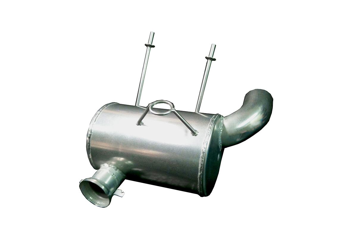 2007-11 Arctic Cat M1000 Lightweight Muffler - Ceramic Coated