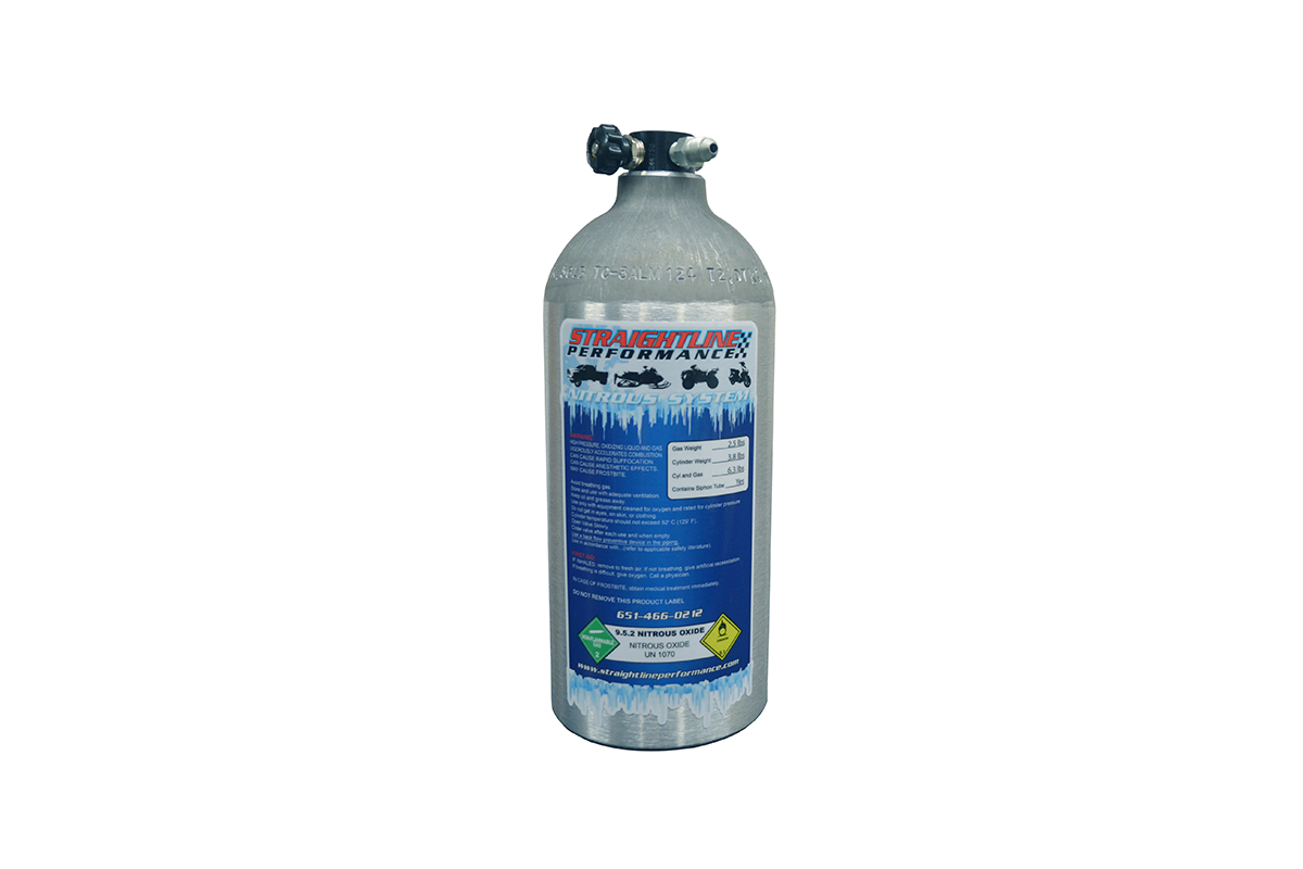 2.5lb Nitrous Bottle (non-siphon tube)