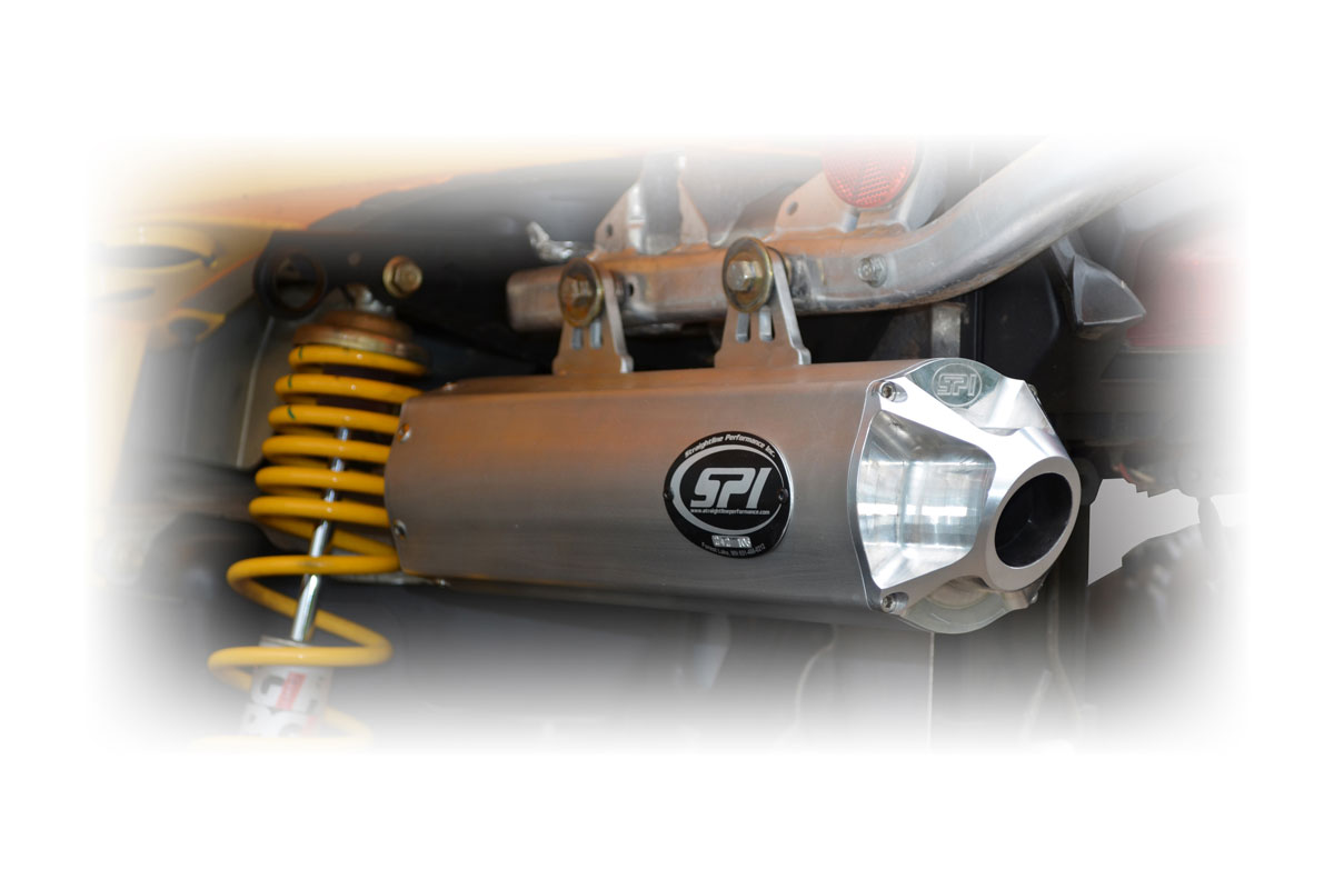 Can-Am Outlander 500/650/800 (includes XT/XXC) Slip-On Exhaust System