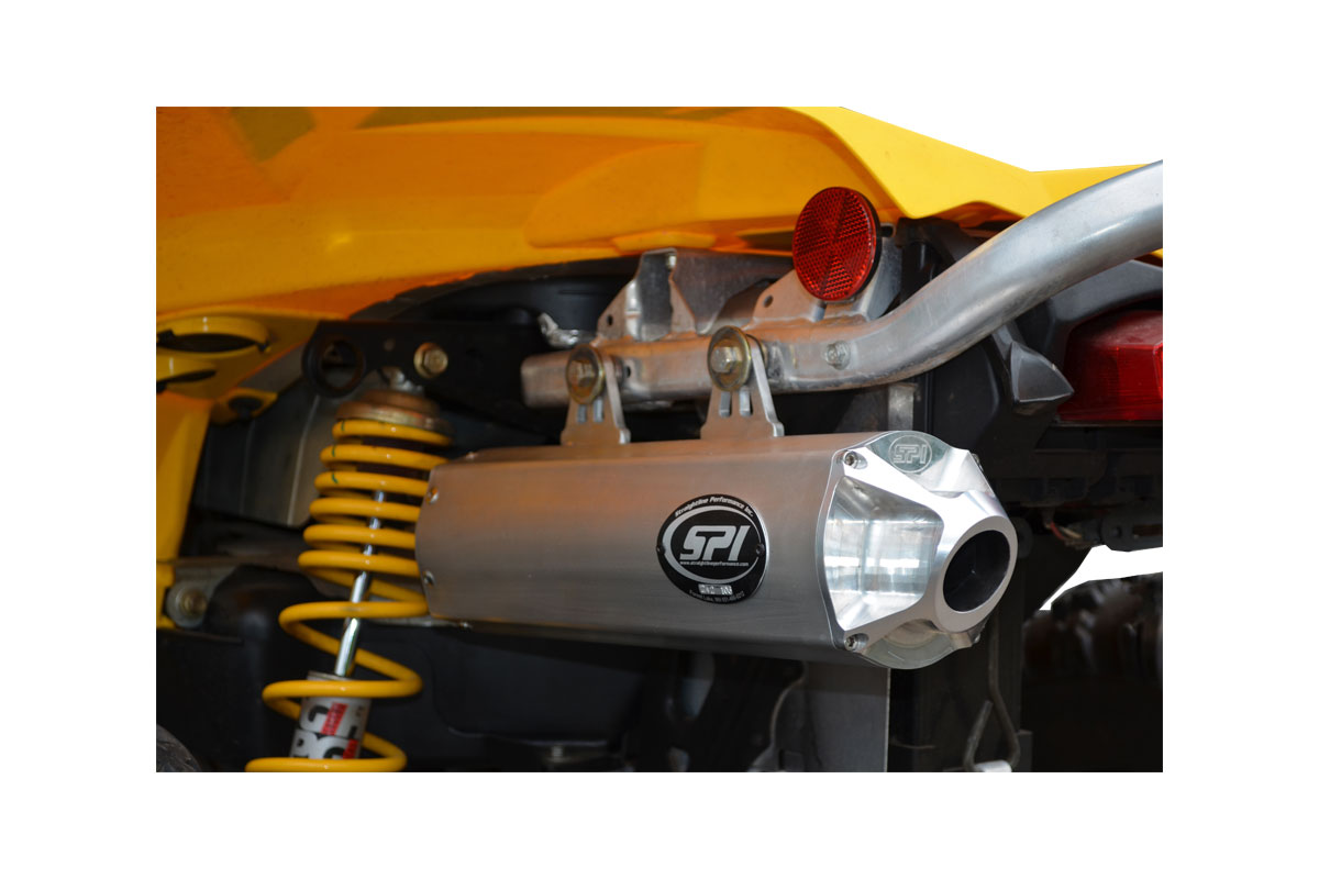 Can-Am Renegade 500 (2008-12)  800 (2008-11) Slip-On Exhaust System