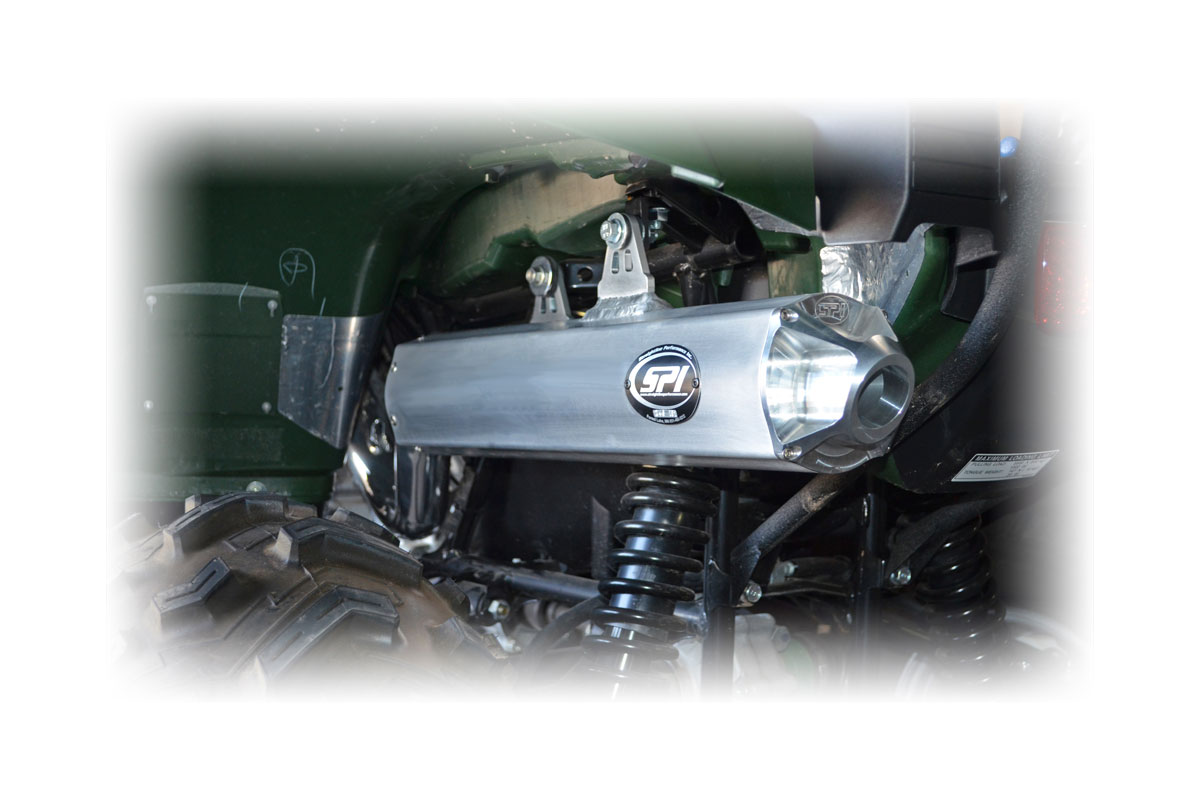 Yamaha 700 Grizzly Slip-On Exhaust System