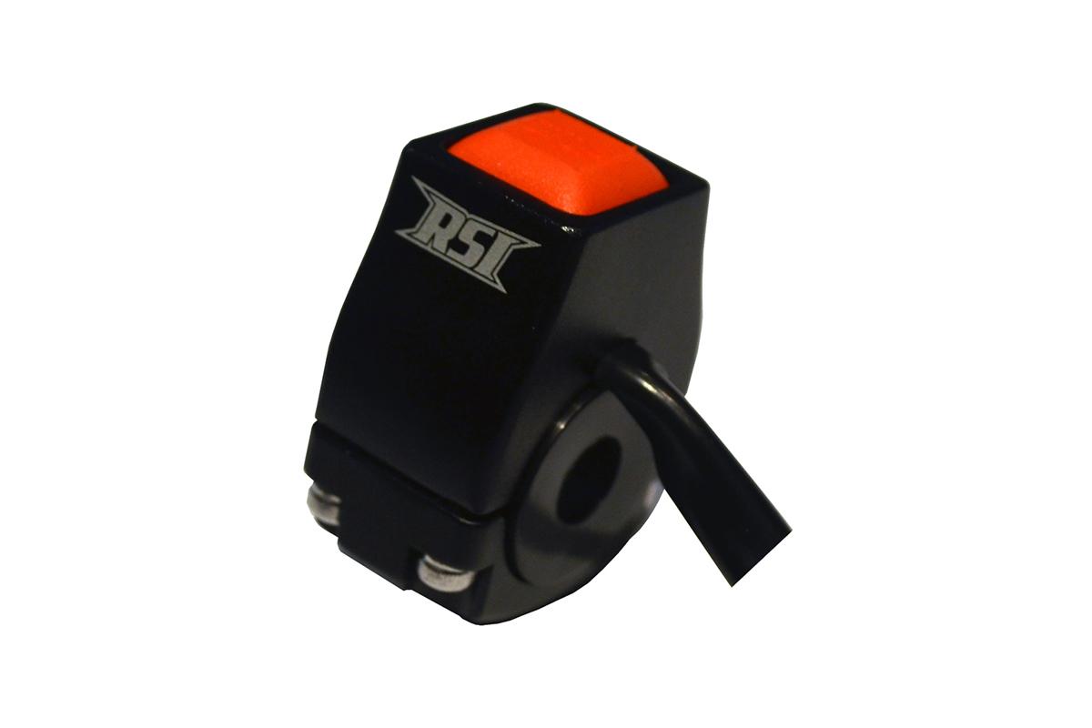 BILLET ALUMINUM ENGINE KILL SWITCH PUSH BUTTON BLACK, POLARIS 2019 - Current 850cc W / OEM CONNECTOR