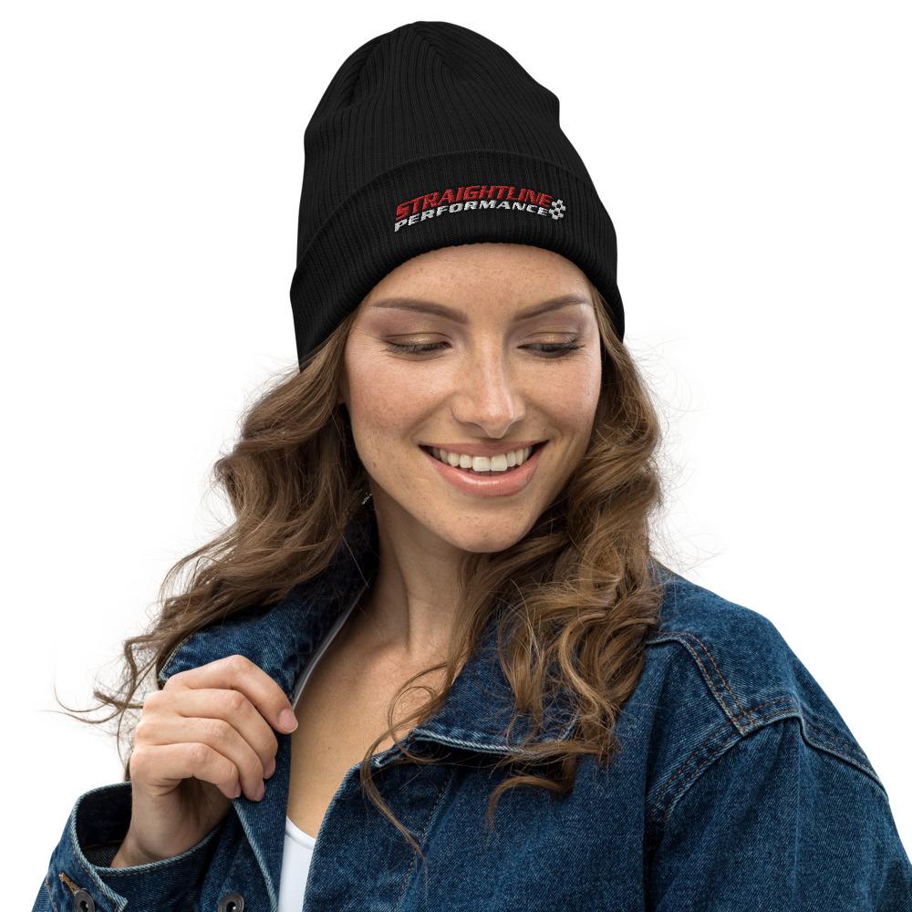 Organic Ribbed Beanie Black Front 6108316cab075.jpg
