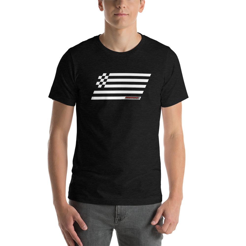 Unisex Staple T Shirt Black Heather Front 610825544d707.jpg