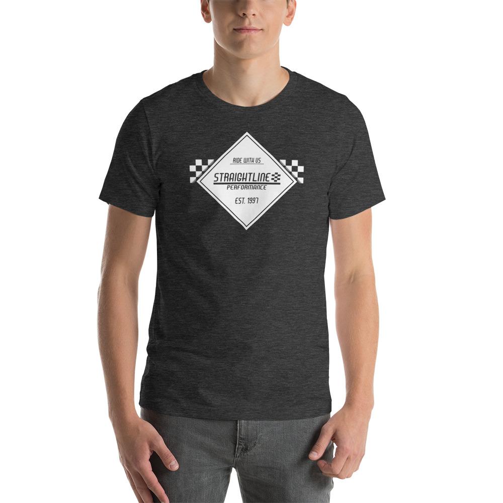 Unisex Staple T Shirt Dark Grey Heather Front 610830fdf2a41.jpg