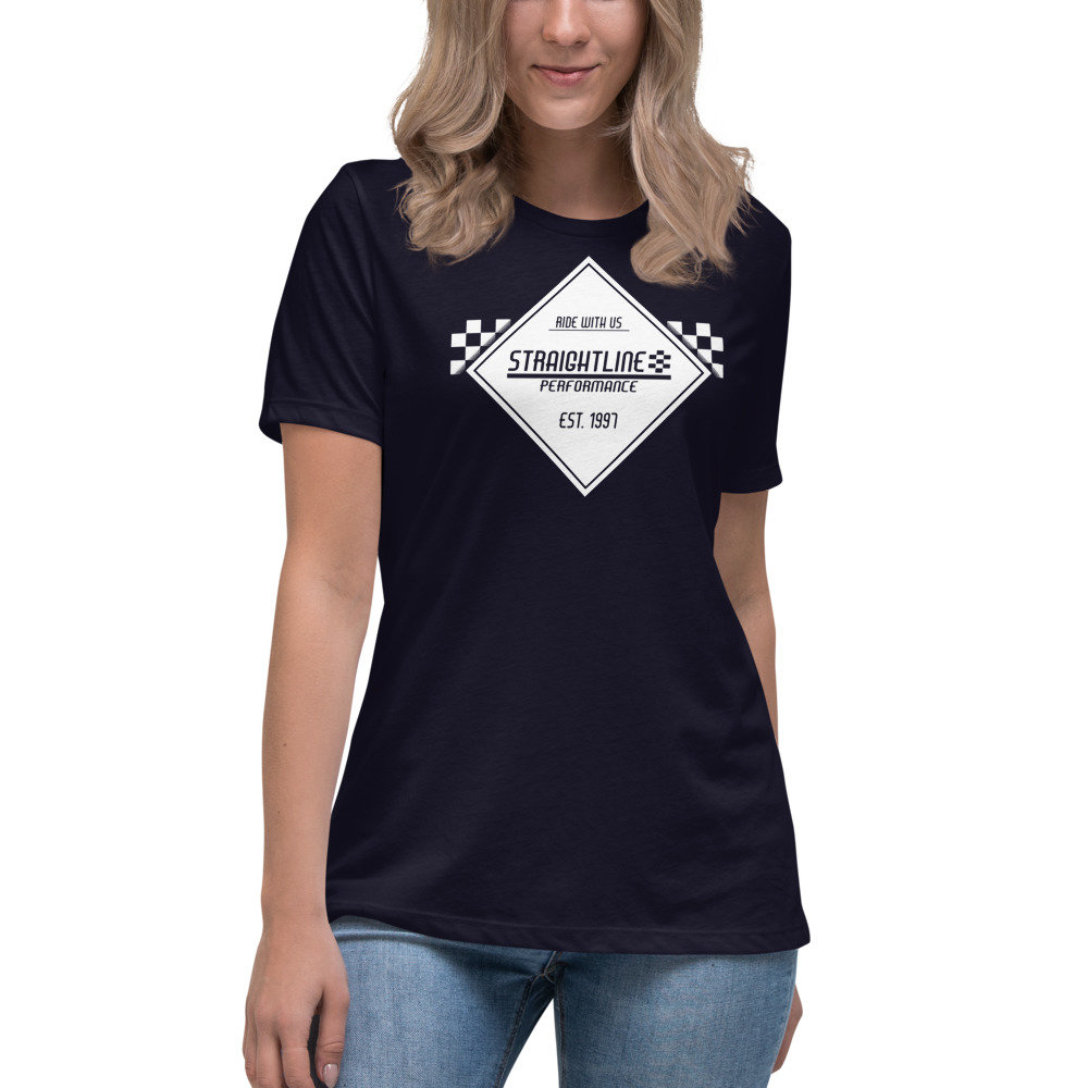 Womens Relaxed T Shirt Navy Front 610832cae6772.jpg